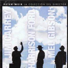 Cine: PETER WEIR LA COLECCIÓN DEL DIRECTOR 3 DVD (PRECINTADO). Lote 184807448