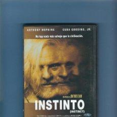 Cinema: DVD - INSTINTO - ANTHONY HOPKINS. Lote 231089440