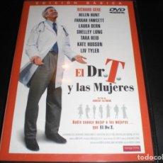 Cine: EL DR. T Y LAS MUJERES DVD CINE 2000 COMEDIA. ROMANCE. RICHARD GERE , HELEN HUNT , FARRAH FAWCETT . Lote 184844407