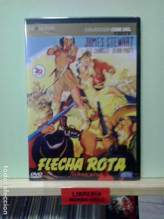 LMV - FLECHA ROTA. JAMES STEWART. DVD (Cine - Películas - DVD)