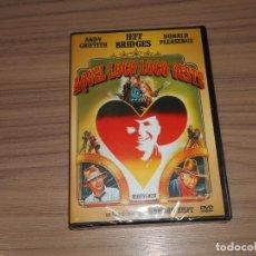 Cine: AQUEL LOCO LOCO OESTE DVD ANDY GRIFFITH JEFF BRIDGES DONALD PLEASENCE NUEVA PRECINTADA. Lote 184928492