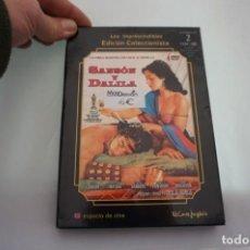 Cine: (2-B7) - 1 X DVD / LOS IMPRESCINDIBLES EDICIÓN COLECCIONISTA / SANSÓN Y DALILA. Lote 185456218