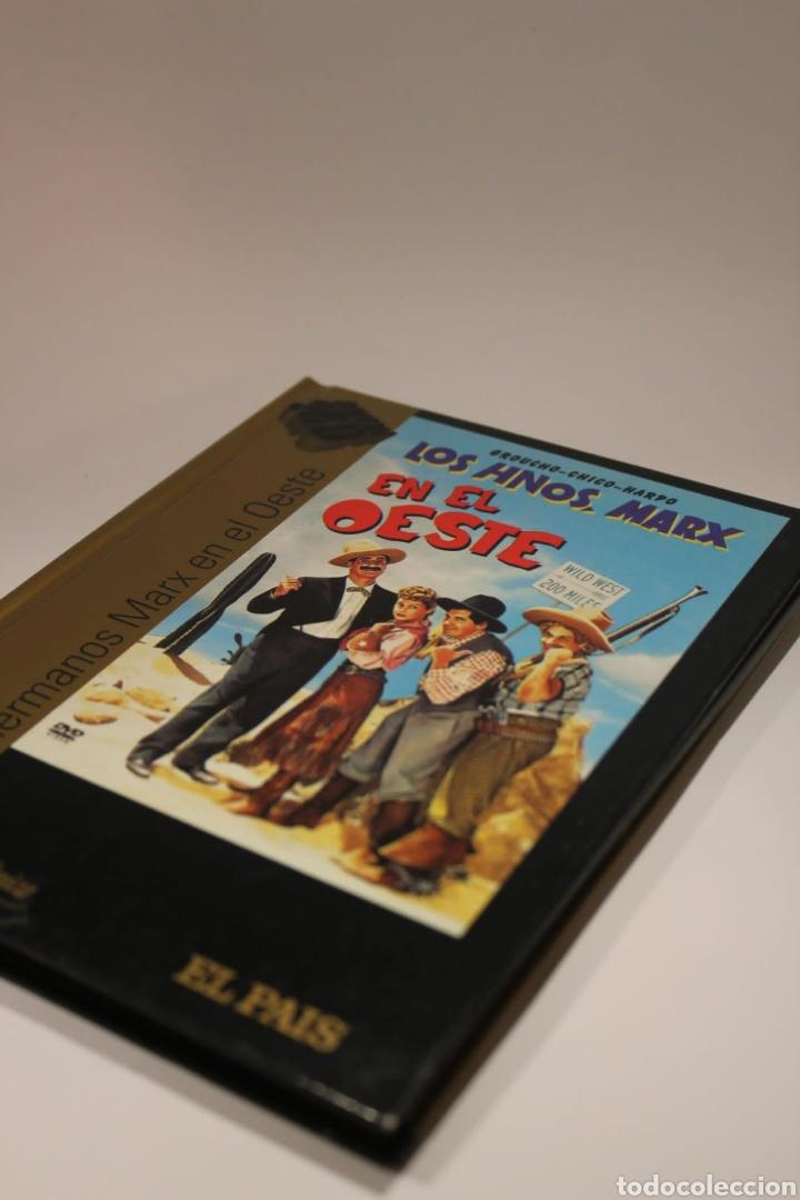 LOS HERMANOS MARX EN EL OESTE. DISCO CON LIBRO. (Cine - Películas - DVD)
