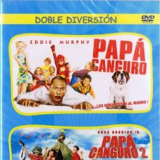 Cine: DVD PAPÁ CANGURO & PAPÁ CANGURO 2 (PRECINTADO). Lote 185707526