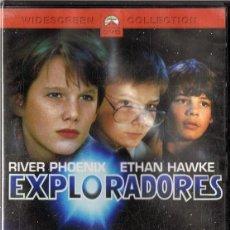 Cine: EXPLORADORES RIVER PHOENIX (PRECINTADO). Lote 185707938
