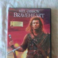 Cine: DVD BRAVEHEART // ENVIO CERTIFICADO INCLUIDO. Lote 185708383