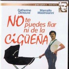 Cine: NO TE PUEDES FIAR NI DE LA CIGÜEÑA CATHERINE DENEUVE (PRECINTADO). Lote 185709365