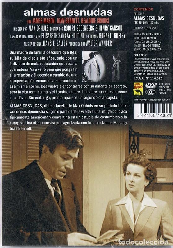 Cine: ALMAS DESNUDAS JAMES MASON (PRECINTADO) - Foto 2 - 185709567