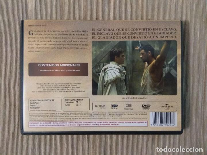Cine: DVD Gladiator // Envio certificado incluido - Foto 2 - 185709707