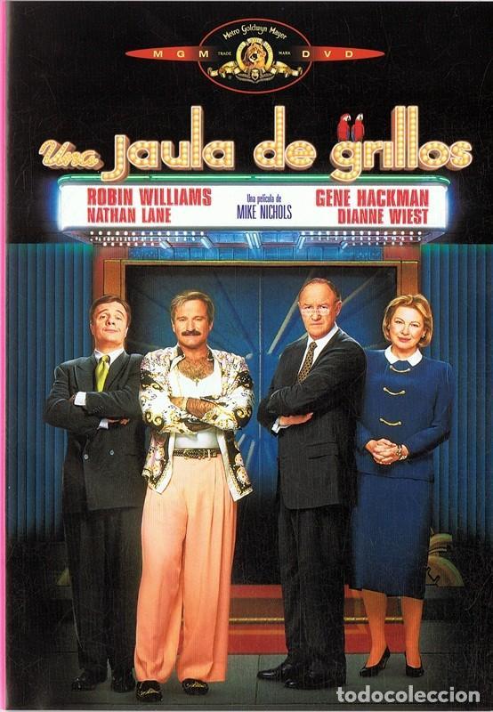 UNA JAULA DE GRILLOS ROBIN WILLIAMS (Cine - Películas - DVD)