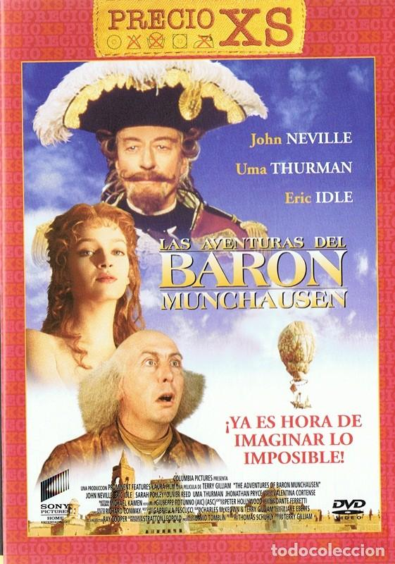 LAS AVENTURAS DEL BARON MUNCHAUSEN JOHN NEVILLE (Cine - Películas - DVD)