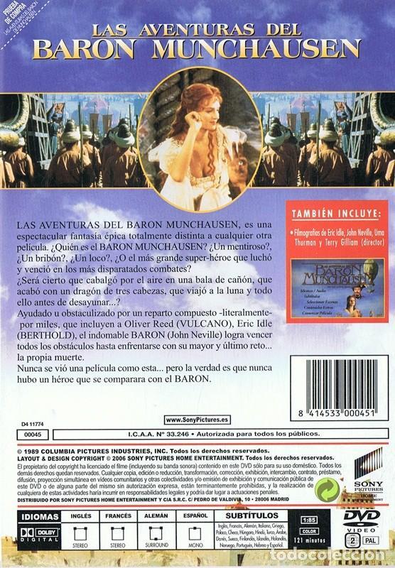 Cine: LAS AVENTURAS DEL BARON MUNCHAUSEN JOHN NEVILLE - Foto 2 - 185710750