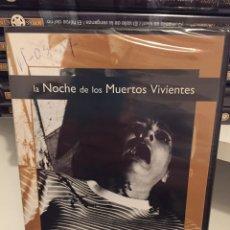 Cine: LA NOCHE DE LOS MUERTOS VIVIENTES/JOYAS DEL CINE/NUEVA PRECINTADA/DVD PELÍCULA. Lote 185736786