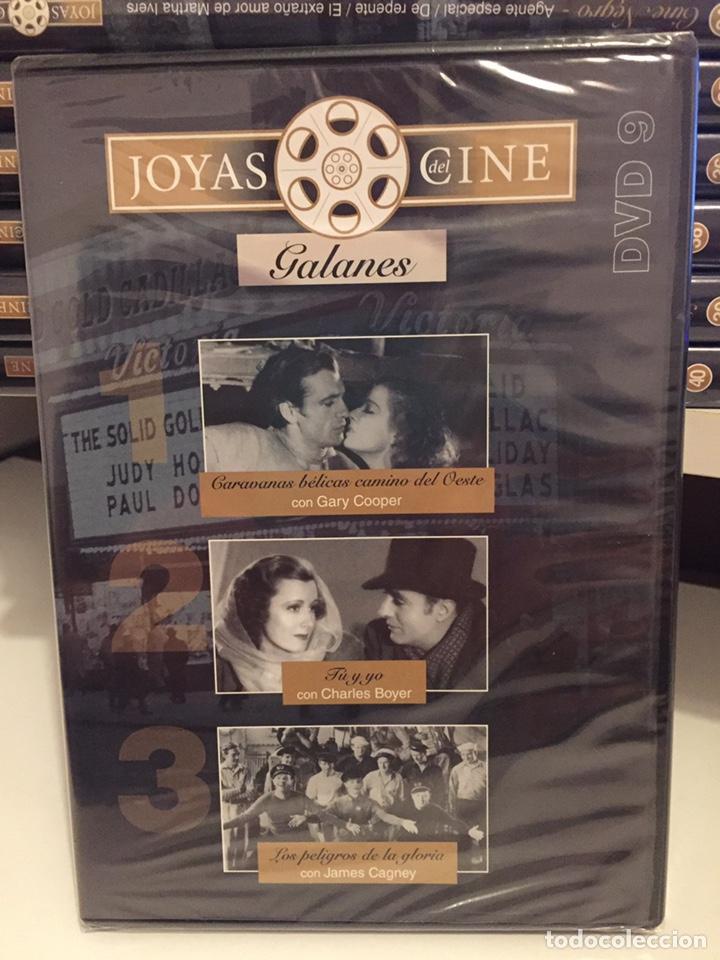JOYAS DEL CINE DVD 9/GALANES/NUEVA CON PRECINTO/3 PELÍCULAS (Cine - Películas - DVD)