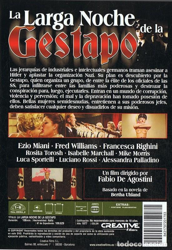 Cine: LA LARGA NOCHE DE LA GESTAPO - Foto 2 - 185742797