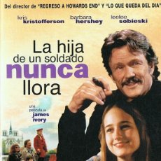 Cine: LA HIJA DE UN SOLDADO NUNCA LLORA KRIS KRISTOFFERSON . Lote 185744781