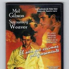 Cine: EL AÑO QUE VIVIMOS PELIGROSAMENTE - PELÍCULA ORIGINAL EN DVD NUEVA SIN ESTRENAR PRECINTADA. Lote 185745005