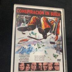 Cine: (S252) CONSPIRACION EN SUIZA ( DVD SEGUNDA MANO ). Lote 185777743