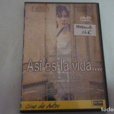 Cine: (1-B7) - 1 X DVD / ASI ES LA VIDA / ARTURO RIPSTEIN. Lote 185778728