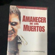 Cine: (S252) AMANECER DE LOS MUERTOS ( DVD SEGUNDA MANO ). Lote 185782218