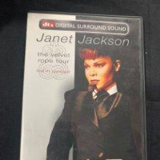 Cine: (S252) JANET JACKSON ( DVD SEGUNDA MANO ). Lote 185782537