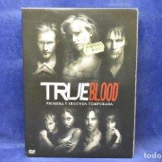 Cine: TRUE BLOOD - PRIMERA Y SEGUNDA TEMPORADA - DVD. Lote 185875681