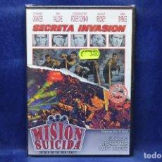 Cine: SECRETA INVASION - MISION SUICIDA - DVD . Lote 185879656
