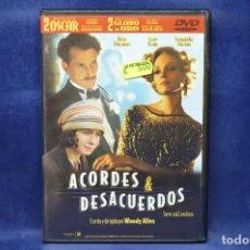 Cine: ACORDES Y DESACUERDOS - DVD . Lote 185897766