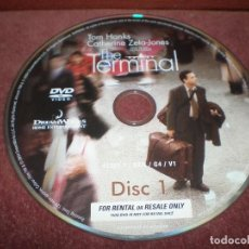 Cine: DVD LA TERMINAL / SIN CARATULA NI CAJA. Lote 185934813