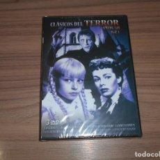Cine: PACK TERROR AÑOS 50 6 PELICULAS DVD LA MUJER MONSTRUO - LA NOCHE DEL DEMONIO ETC.. NUEVA PRECINTADA. Lote 185967456