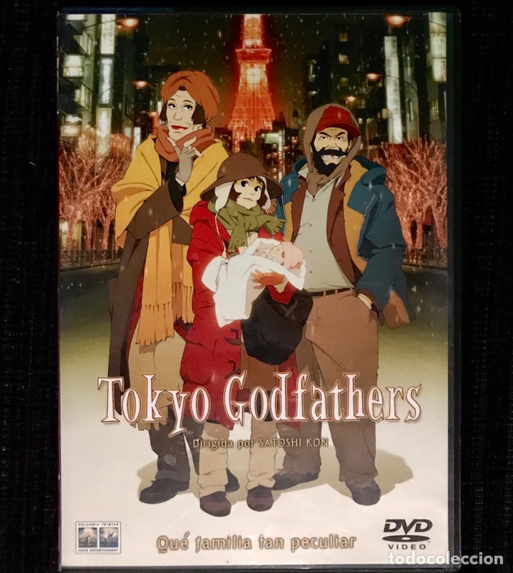DVD TOKYO GODFATHERS SATOSHI KON ANIME MANGA ANIMACION JAPONESA (Cine - Películas - DVD)