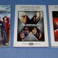 Cine: LOTE DE 3 PELICULAS DVD DE X MEN ORIGINALES EN PERFECTO ESTADO. Lote 185992735
