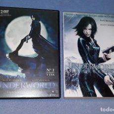 Cine: LOTE DE 2 PELICULAS DVD DE UNDERWORLD ORIGINALES EN PERFECTO ESTADO. Lote 185992968