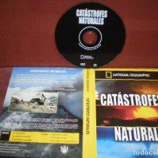 Cine: DVD NATIONAL GEOGRAPHIC CATASTROFES NATURALES / SIN CARATULA ( OPCIONAL ) NI CAJA. Lote 186027682