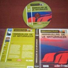 Cine: DVD DOCUMENTALES MARAVILLAS DE LA NATURALEZA / SIN CARATULA ( OPCIONAL ) NI CAJA. Lote 186027757