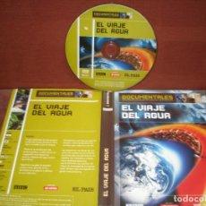 Cine: DVD DOCUMENTALES EL VIAJE DEL AGUA / SIN CARATULA ( OPCIONAL ) NI CAJA. Lote 186027808