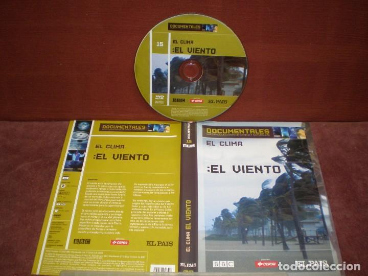 DVD DOCUMENTALES EL CLIMA EL VIENTO / SIN CARATULA ( OPCIONAL ) NI CAJA (Cine - Películas - DVD)