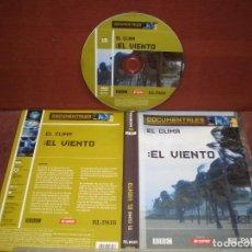 Cine: DVD DOCUMENTALES EL CLIMA EL VIENTO / SIN CARATULA ( OPCIONAL ) NI CAJA. Lote 186027995