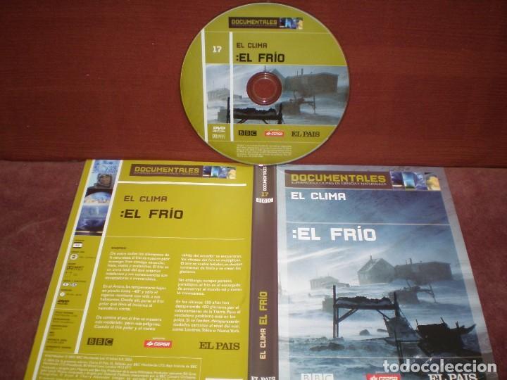 DVD DOCUMENTALES EL CLIMA EL FRIO / SIN CARATULA ( OPCIONAL ) NI CAJA (Cine - Películas - DVD)