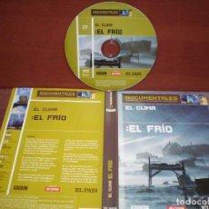 Cine: DVD DOCUMENTALES EL CLIMA EL FRIO / SIN CARATULA ( OPCIONAL ) NI CAJA. Lote 186028037