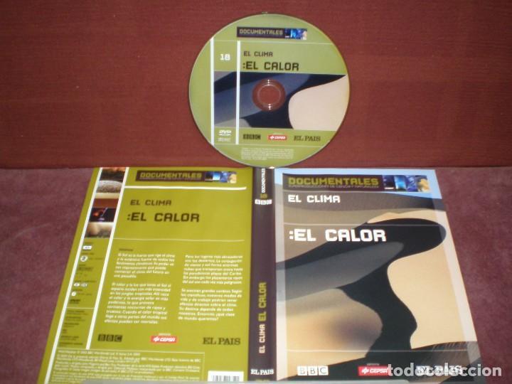 DVD DOCUMENTALES EL CLIMA EL CALOR / SIN CARATULA ( OPCIONAL ) NI CAJA (Cine - Películas - DVD)