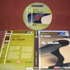 Cine: DVD DOCUMENTALES EL CLIMA EL CALOR / SIN CARATULA ( OPCIONAL ) NI CAJA. Lote 186028085