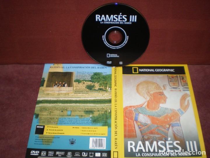 DVD NATIONAL GEOGRAPHIC RAMSES III LA CONSPIRACION DEL HAREN / SIN CARATULA ( OPCIONAL) NI CAJA (Cine - Películas - DVD)