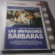 Cine: DVD - LAS INVASIONES BÁRBARAS. PRECINTADO. COLECCIÓN CINE PÚBLICO. Lote 186040856