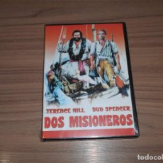 Cine: DOS MISIONEROS DVD TERENCE HILL BUD SPENCER NUEVA PRECINTADA. Lote 186089308