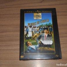 Cine: PLUMAS DE CABALLO DVD HERMANOS MARX NUEVA PRECINTADA. Lote 186090762