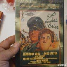 Cine: CINCO TUMBAS CAIRO¡¡NUEVO¡¡. Lote 186131291