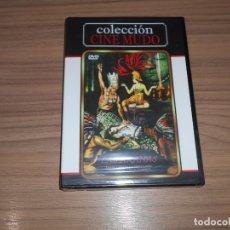 Cine: LAS ARAÑAS DVD DE FRITZ LANG CINE MUDO NUEVA PRECINTADA. Lote 186146627
