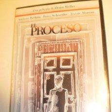 Cinéma: DVD EL PROCESO. ANTHONY PERKINS. ROMY SCHENEIDER. JEANNE MOREAU. DE ORSON WELLES 118 MIN (SEMINUEVA). Lote 186172208