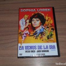 Cine: LA VENUS DE LA IRA DVD PETER FINCH SOPHIA LOREN NUEVA PRECINTADA. Lote 186212537